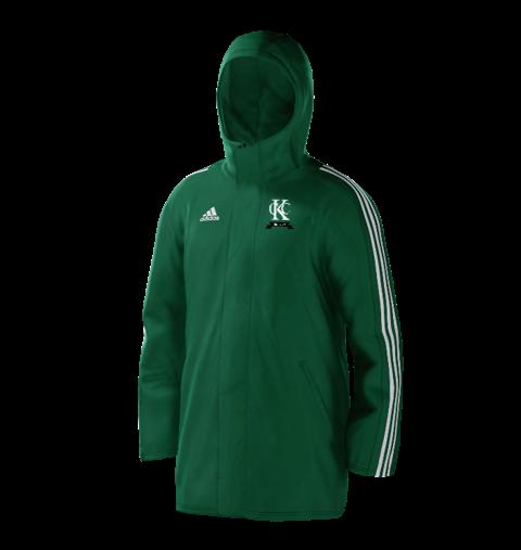 Kew CC Green Adidas Stadium Jacket