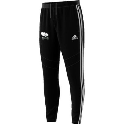 Mersham le Hatch CC Adidas Black Training Pants