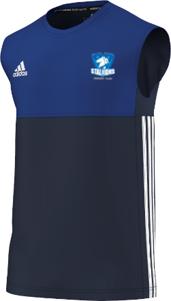 Milton Keynes Stallions CC Adidas Navy Training Vest
