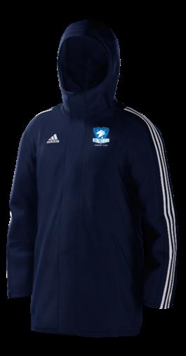 Milton Keynes Stallions CC Navy Adidas Stadium Jacket