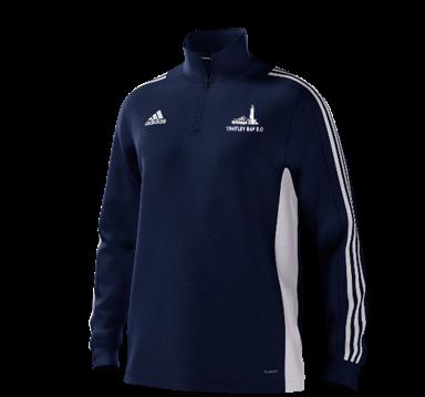 Whitley Bay CC Adidas Navy Training Top