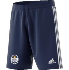 Birstall CC Adidas Navy Junior Training Shorts