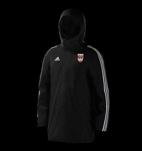 Lancaster University CC Black Adidas Stadium Jacket