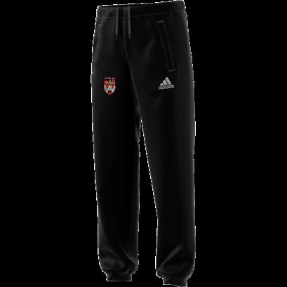 Lancaster University CC Adidas Black Sweat Pants