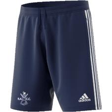 Rosedale Abbey CC Adidas Navy Training Shorts