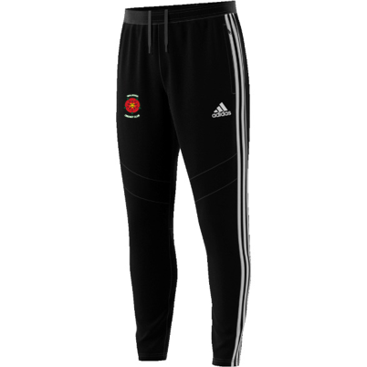 Walkden CC Adidas Black Training Pants