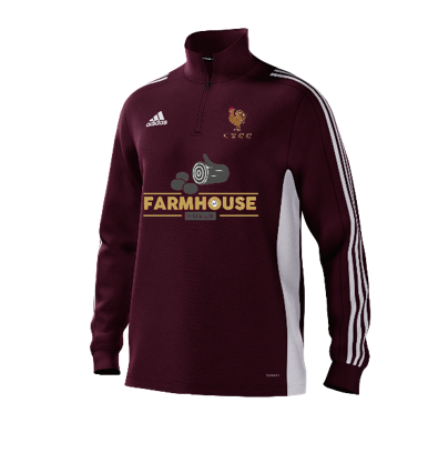 C.T.C.C. Adidas Maroon Training Top