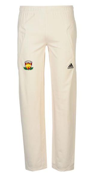 Loddington & Mawsley CC Adidas Pro Junior Playing Trousers