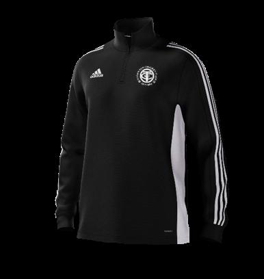 Thornton CC Adidas Black Junior Training Top