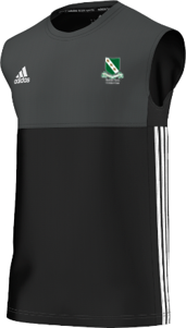 Raunds Town CC Adidas Black Training Vest