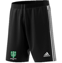 Abingdon Vale CC Adidas Black Training Shorts