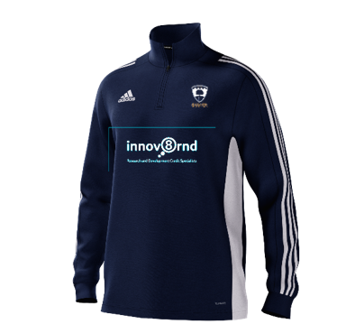 Broadwater CC Adidas Navy Training Top