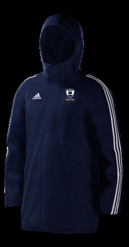 Broadwater CC Navy Adidas Stadium Jacket