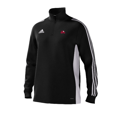 Kent Girls Cricket Academy Adidas Black Junior Training Top