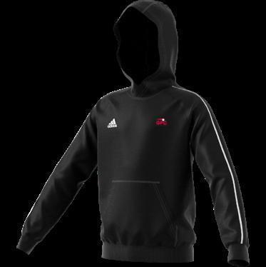 Kent Girls Cricket Academy Adidas Black Junior Fleece Hoody