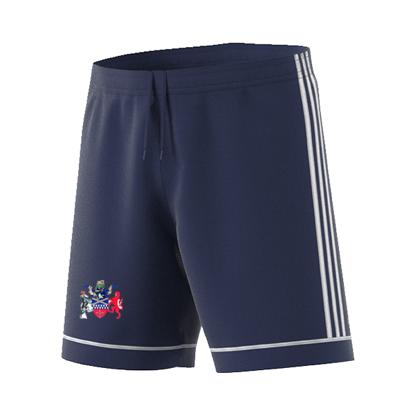 Tamworth CC Adidas Navy Junior Training Shorts