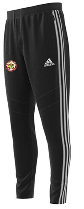 Worcester Nomads CC Adidas Black Training Pants
