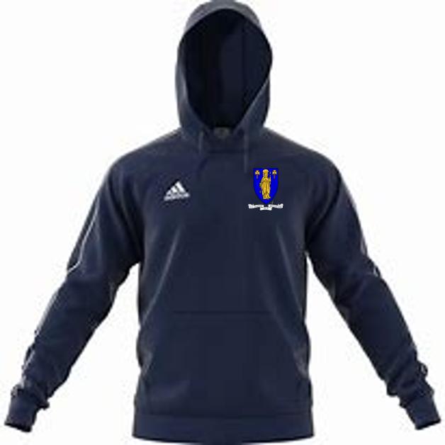 Merthyr CC Adidas Navy Junior Fleece Hoody