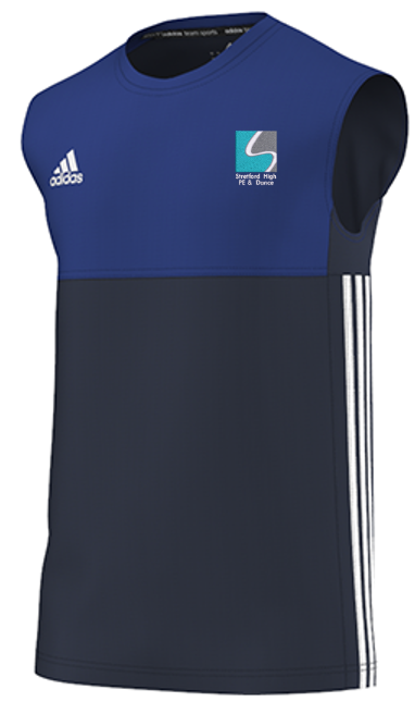 Streford High School Adidas Navy Training Vest