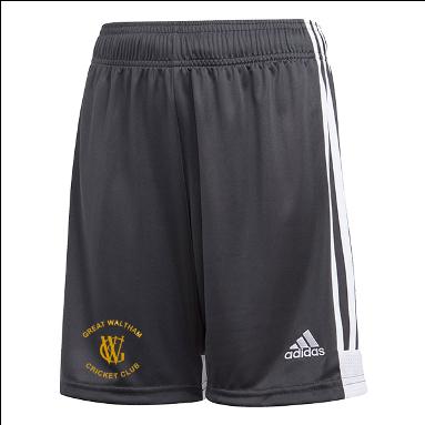 Great Waltham CC Adidas Black Training Shorts