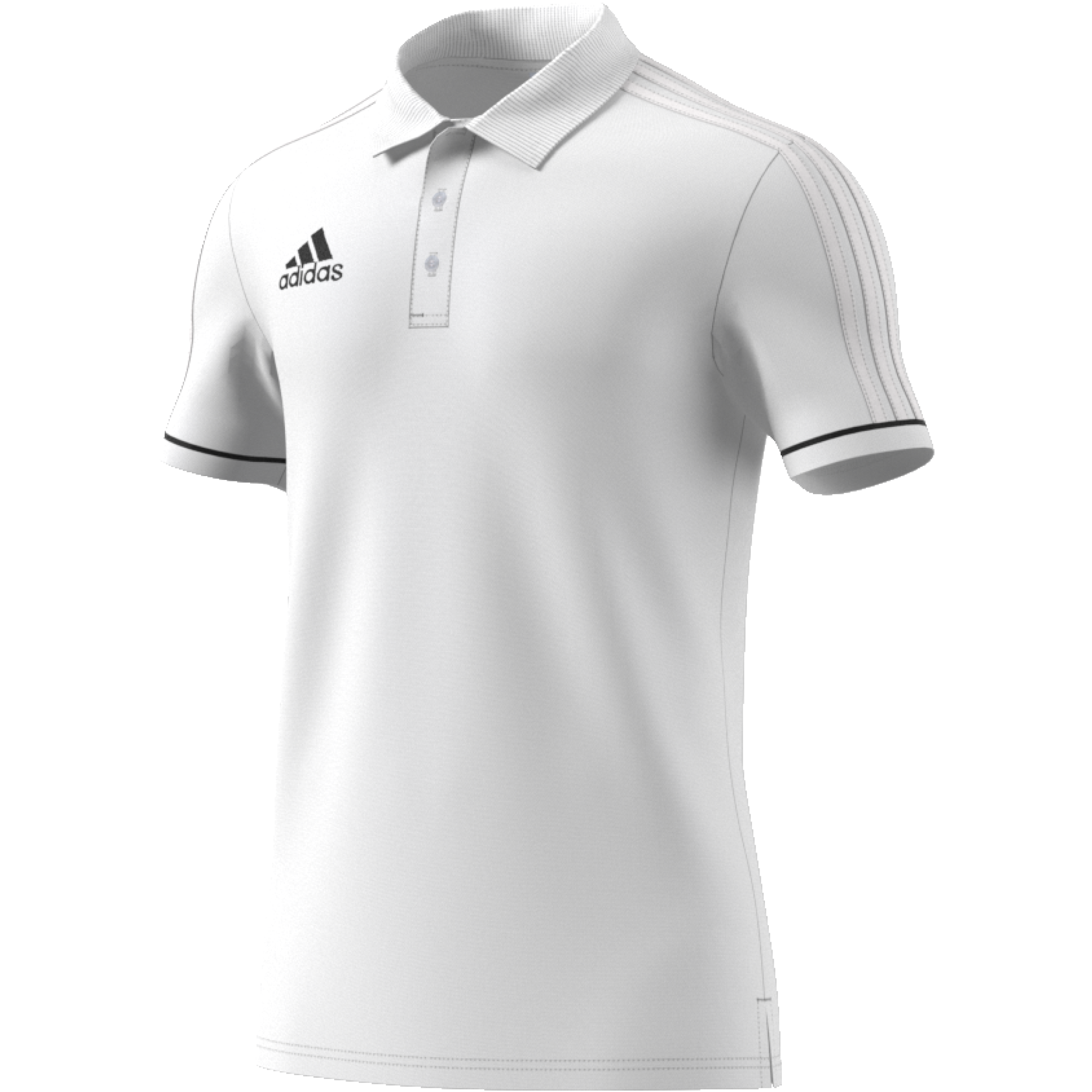 Bovingdon FC Adidas White Polo