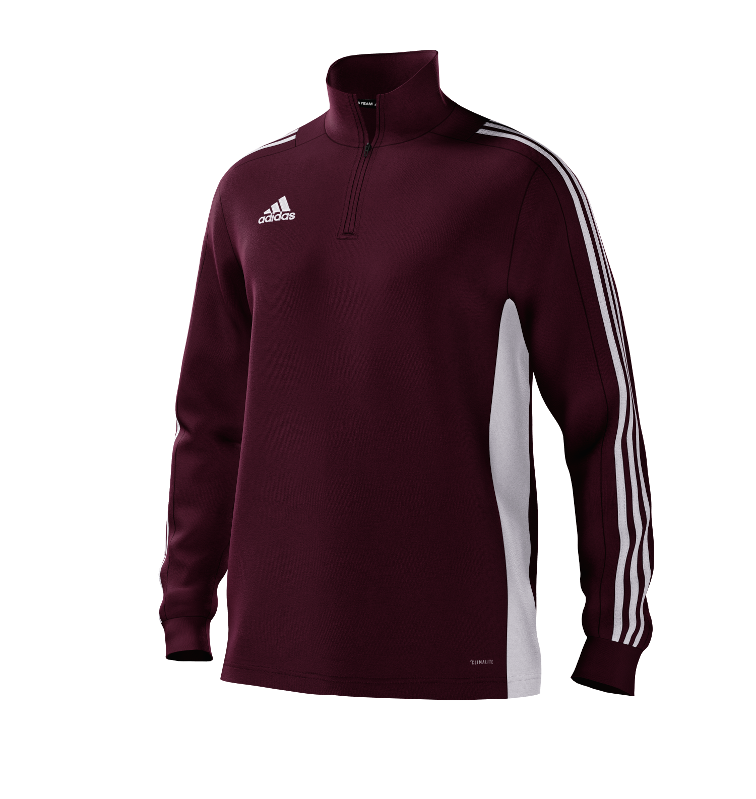 Ashby Hastings CC Adidas Maroon Training Top