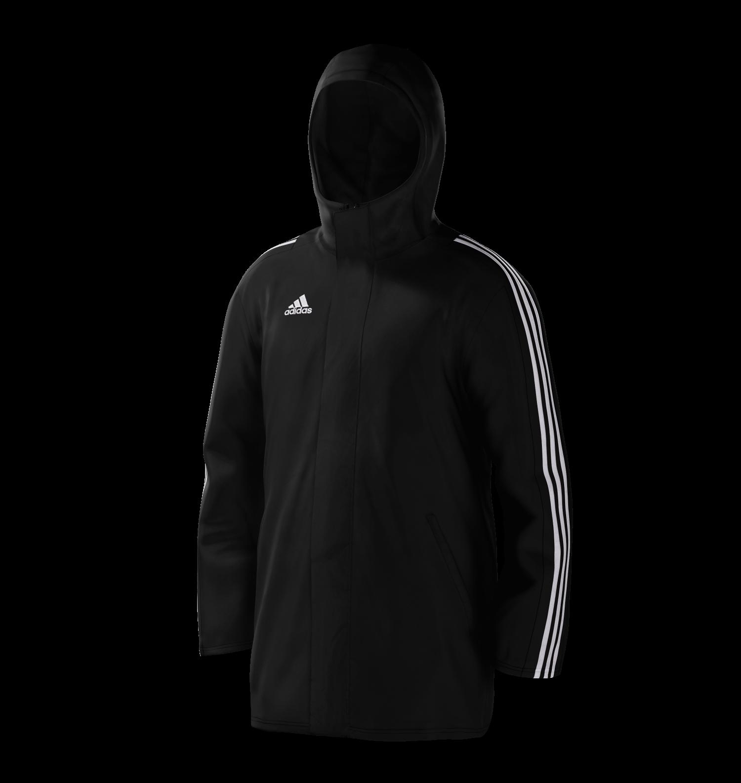 Stainborough CC Black Adidas Stadium Jacket