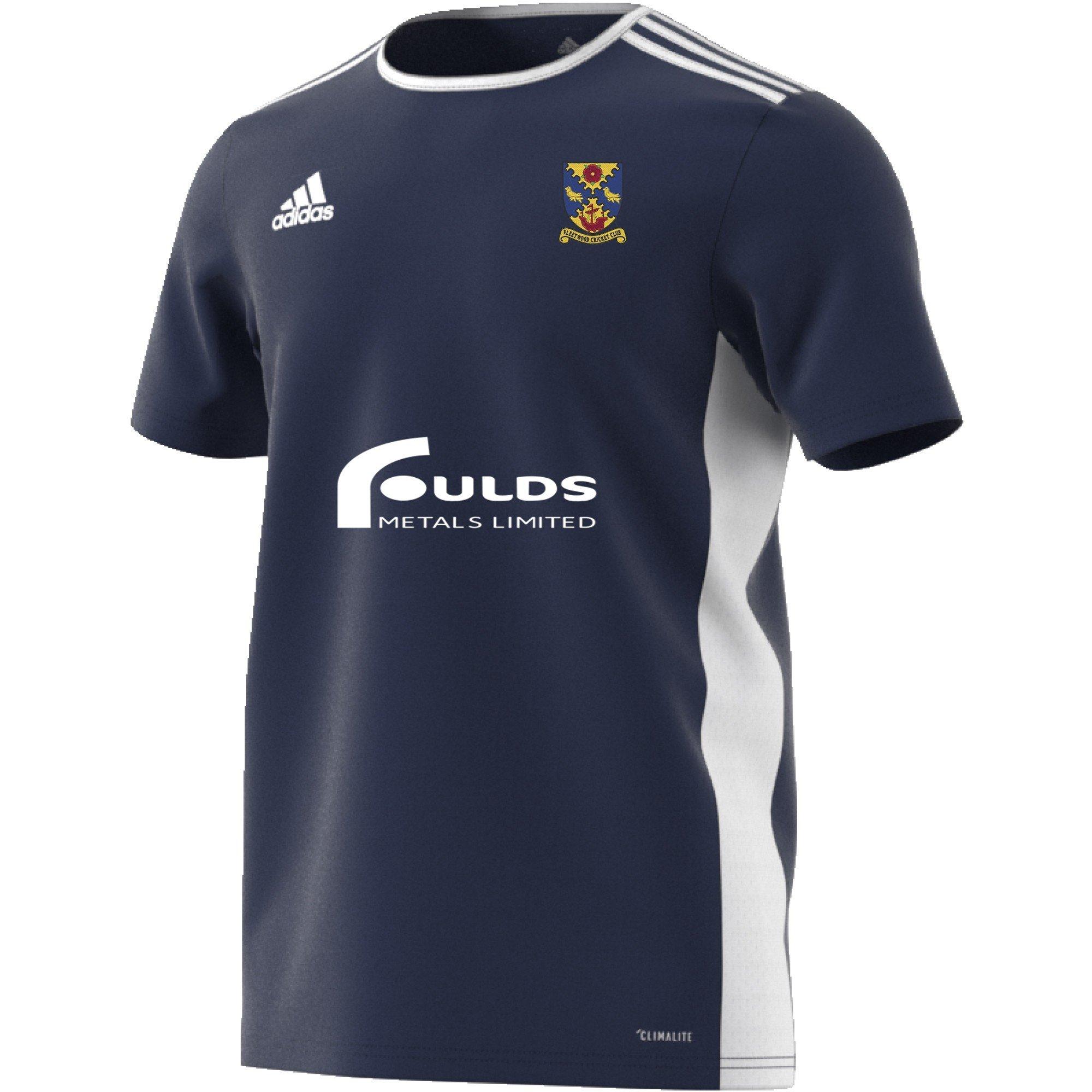 Fleetwood CC Adidas Navy Junior Training Jersey