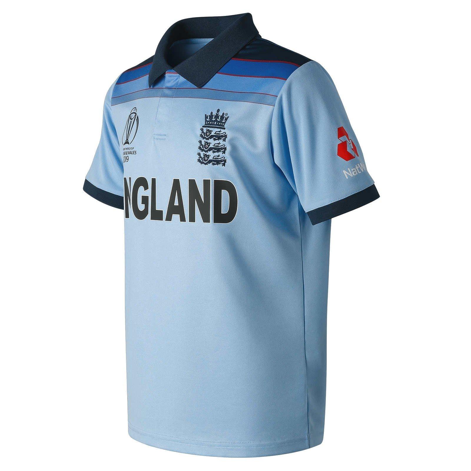 new product 6d639 3a688 2019 New Balance England Cricket World Cup Winners ODI Replica Junior