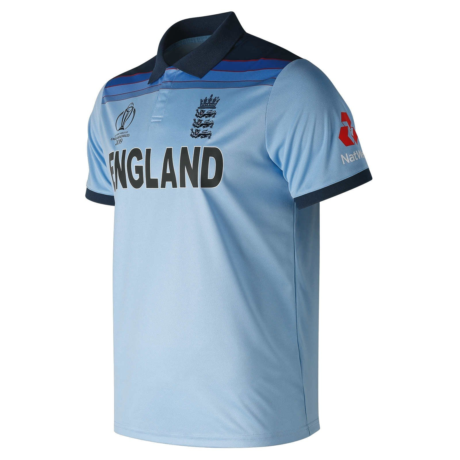 new style c322a 74311 2019 New Balance England Cricket World Cup Winners ODI Replica Mens