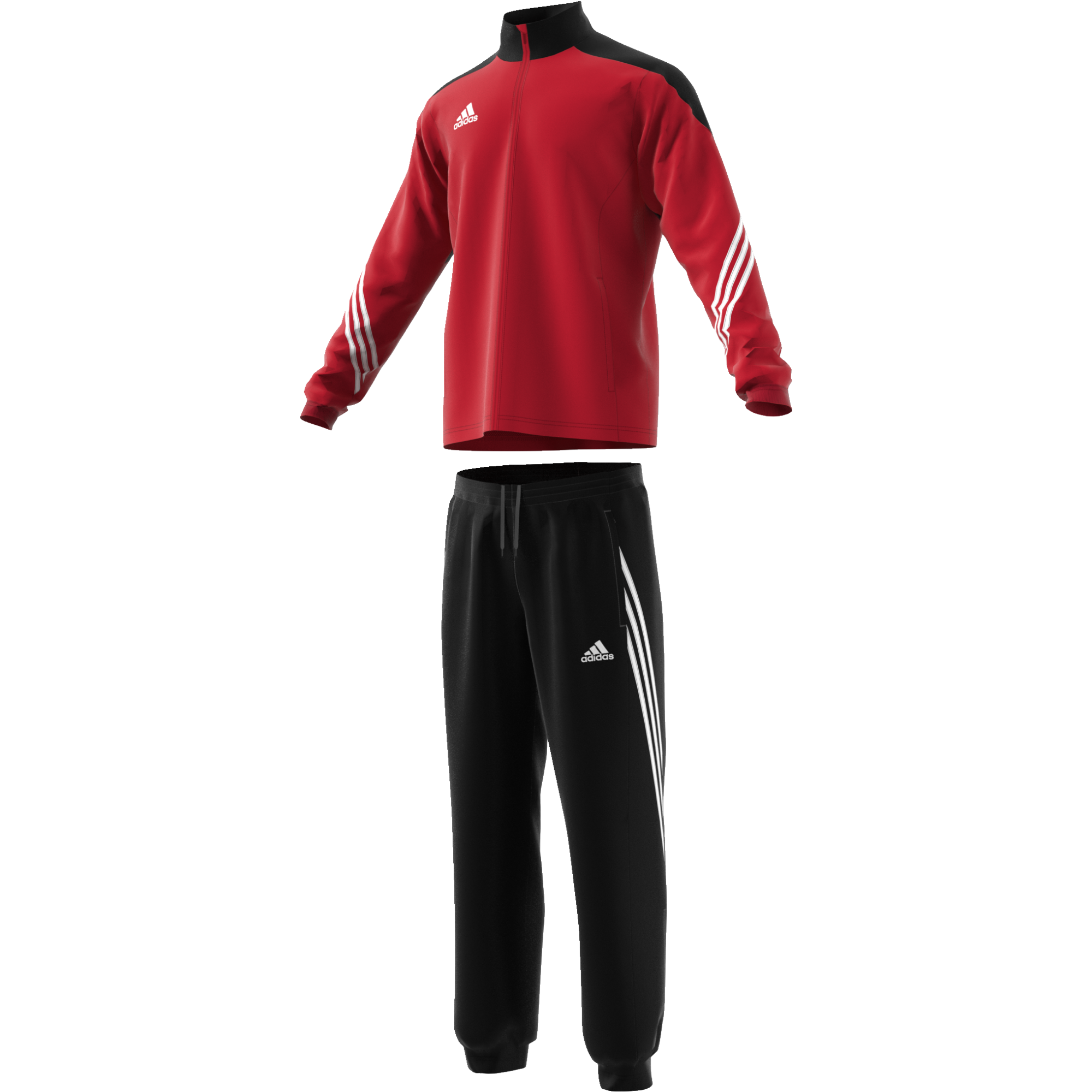 St Michael's on Wyre Primary School Adidas Red Presentation Tracksuit