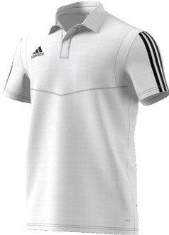 Roundhay Tennis Club Adidas White Polo