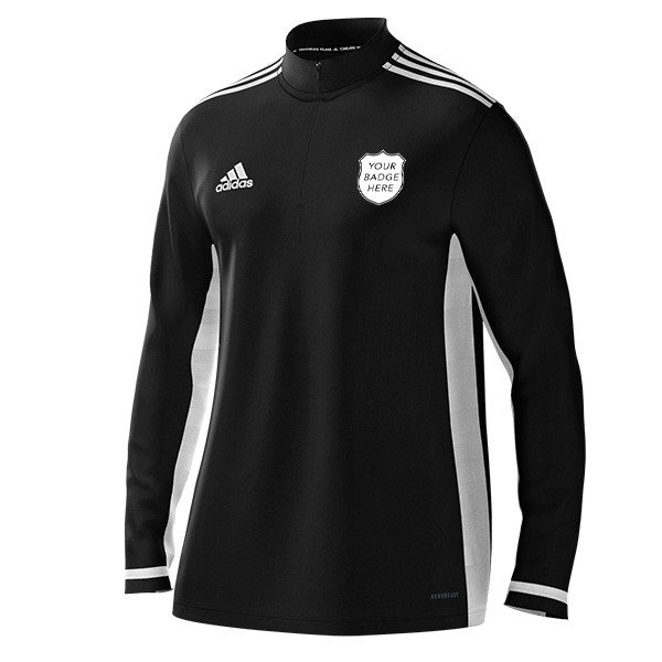 Bovingdon FC Coaches Adidas Black Training Top