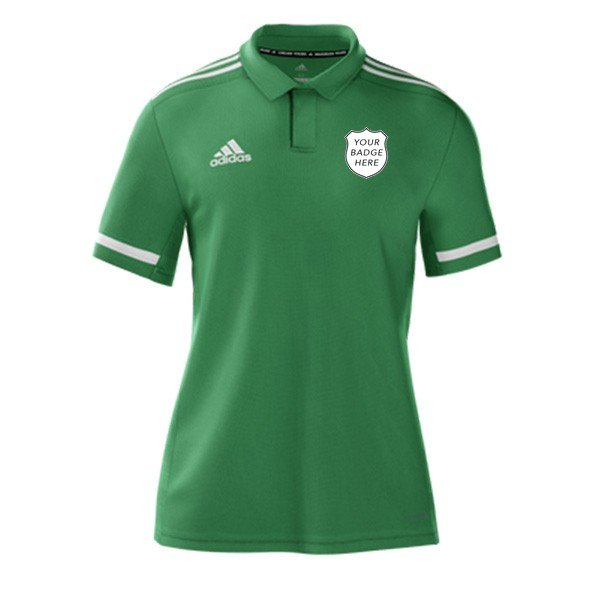 Greenwood Park CC Adidas Green Polo