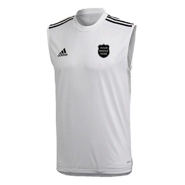 Mirfield CC Adidas White Training Vest