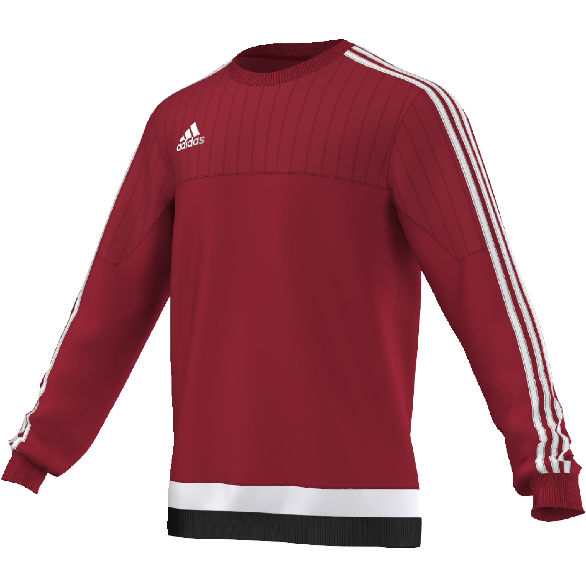 St Michael's on Wyre Primary School Adidas Red Sweat Top