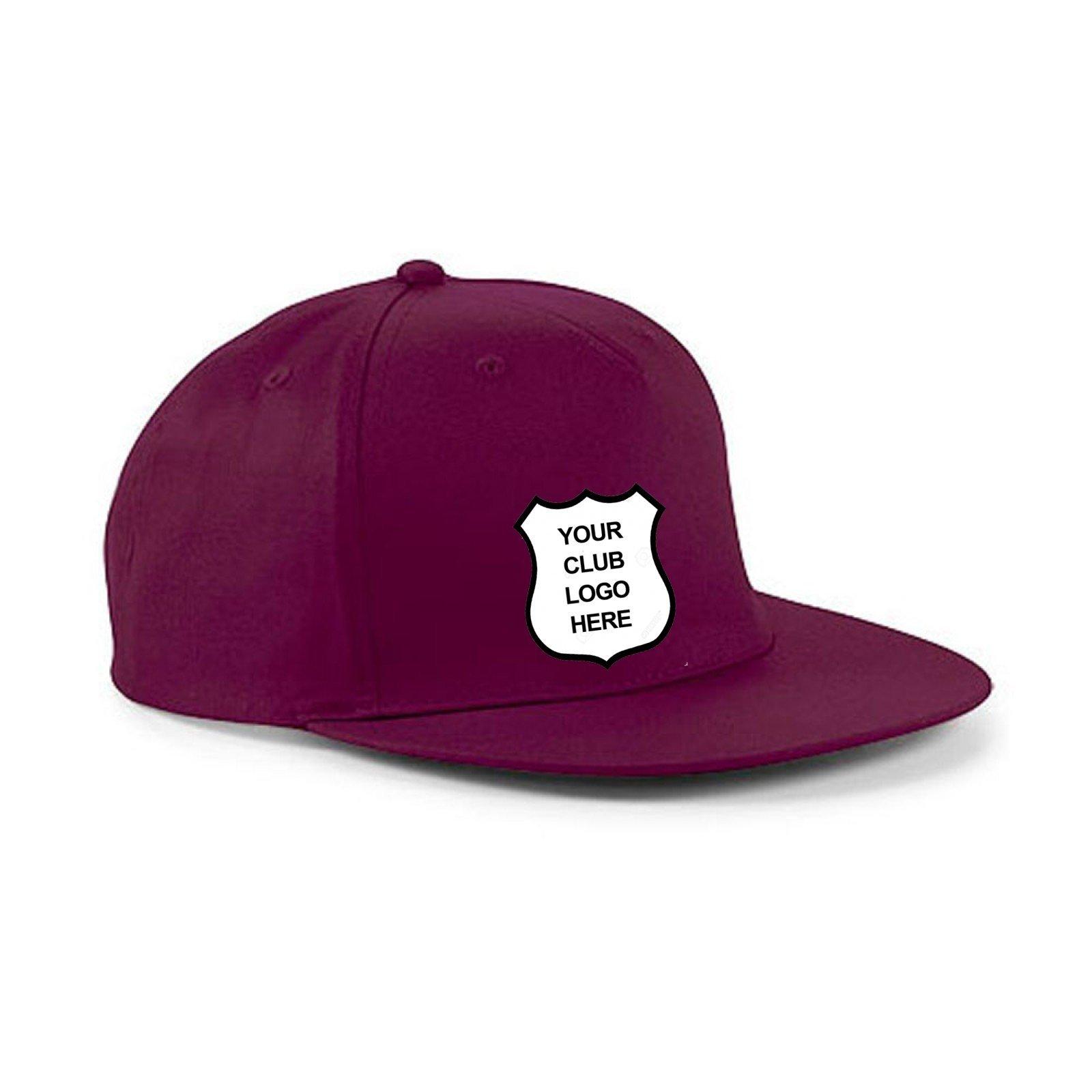 Skelmanthorpe CC Maroon Snapback Hat
