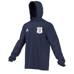 Conisborough CC Adidas Navy Rain Jacket