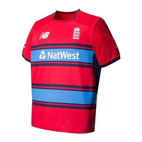Excluir microscópico Ninguna  2017 New Balance England T20 Replica Cricket Shirt