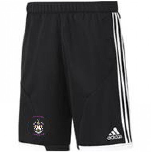 Ormskirk Hockey Club Adidas Black Training Shorts