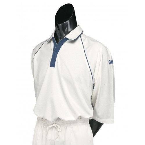 2015 Gunn and Moore Premier Club Short Sleeve Junior Cricket Shirt