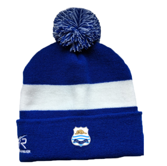 Beverley Town CC Royal Blue AR Bobble Beanie