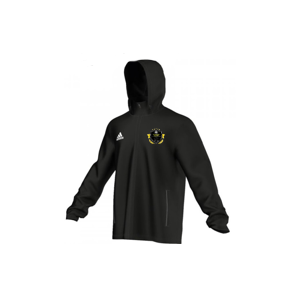 The Soccer Akidemy Adidas Black Rain Jacket