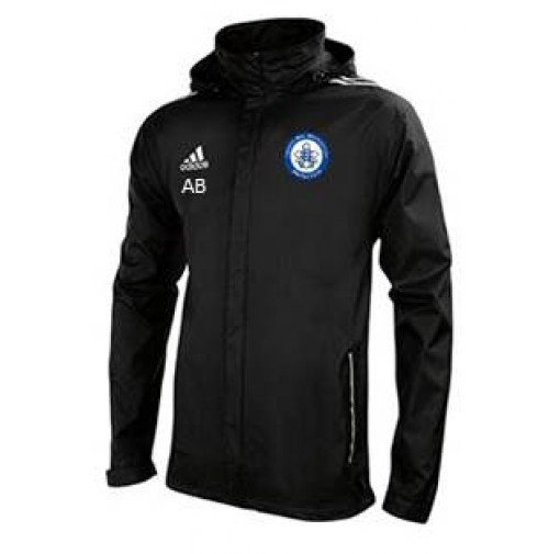 Trinity Mid-Whitgiftian Hockey Club Adidas Black Rain Jacket