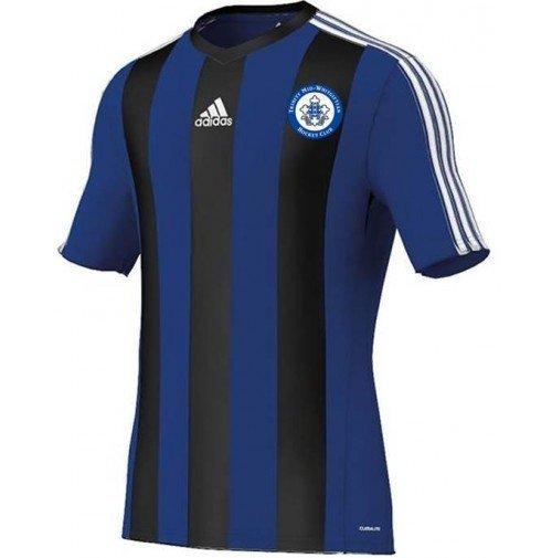 Trinity Mid-Whitgiftian Hockey Club Adidas Estro Blue/Black Short Sleeve Playing Shirt