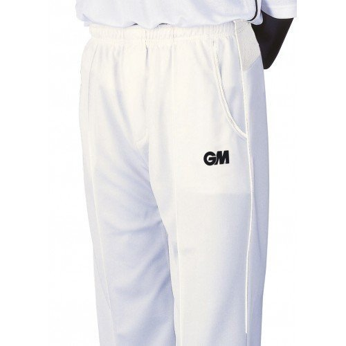 2015 Gunn and Moore Teknik Cricket Trousers Cream Trim