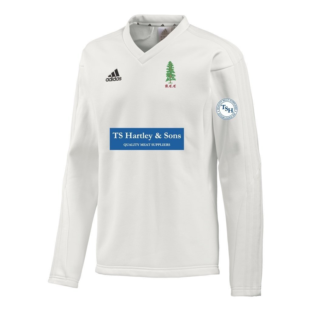 Alne CC Adidas L-S Playing Sweater