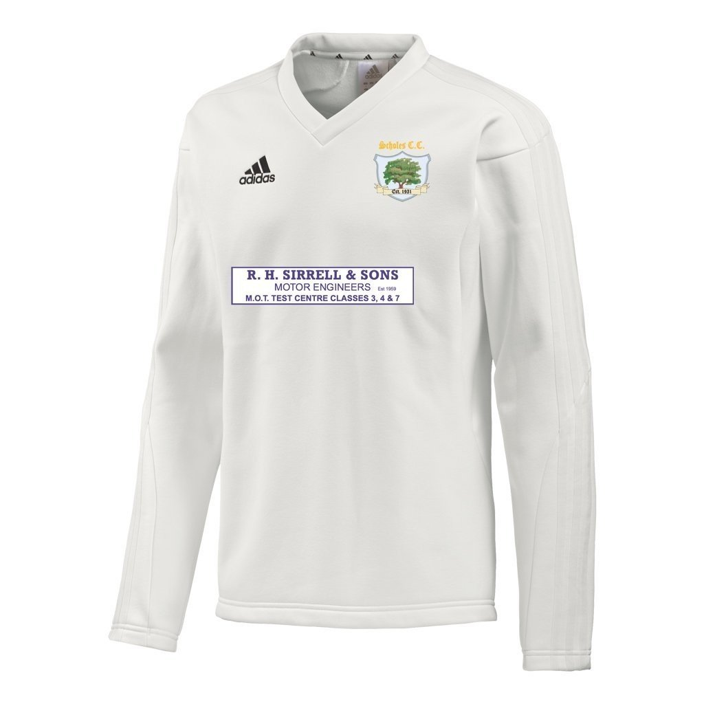 Scholes CC Adidas L-S Playing Sweater