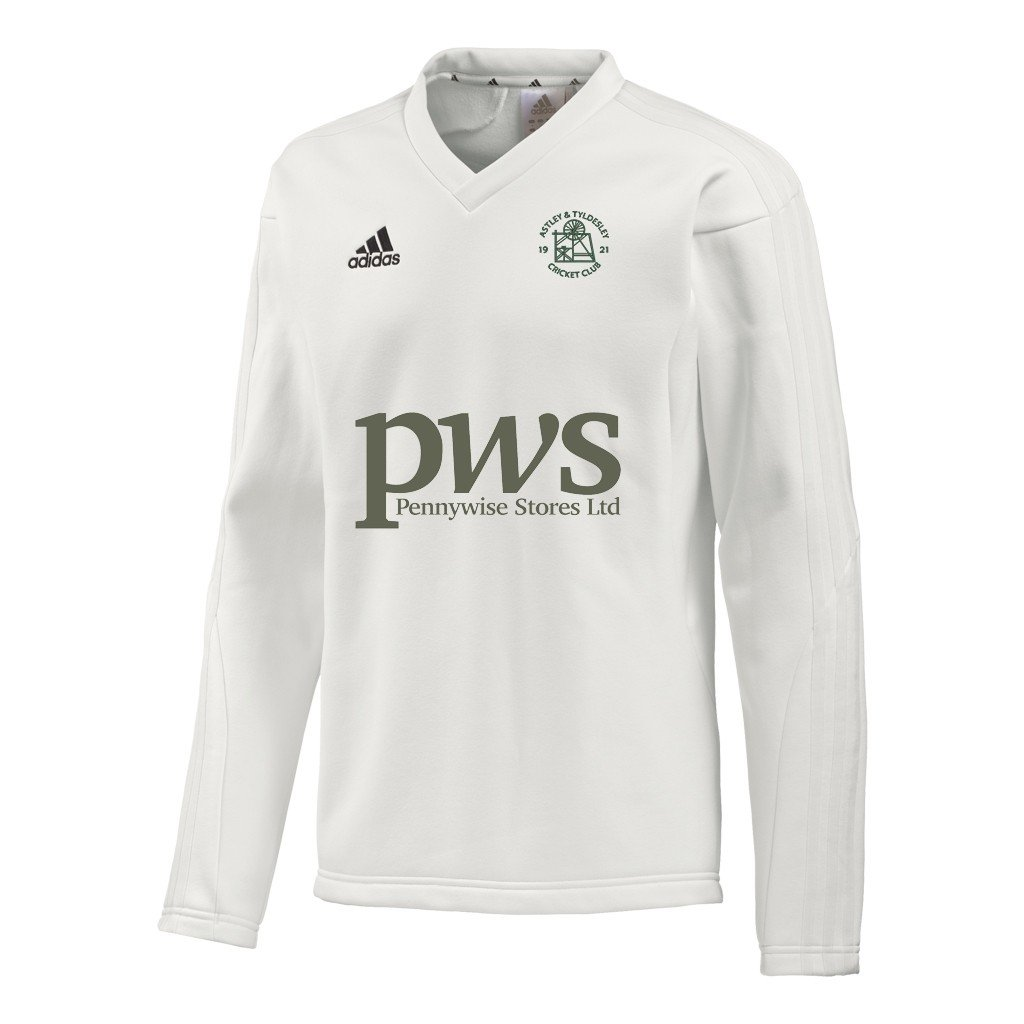 Astley and Tyldesley CC Adidas L-S Playing Sweater