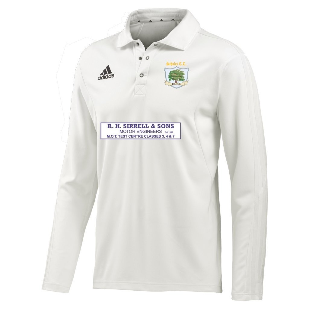 Scholes CC Adidas L-S Playing Shirt